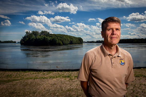 John Hartig, refuge manager, Detroit International Wildlife Refuge