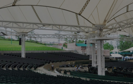The Cynthia Woods Mitchell Pavilion, an RF Connect client