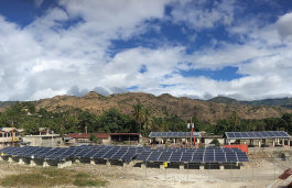 Microgrid Installation in Haiti