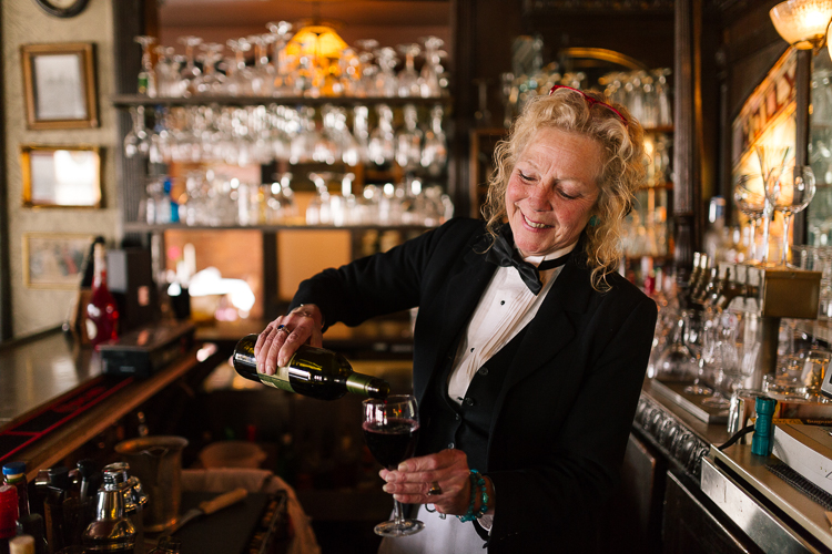 Originally from the east coast, Stella has been working as a server at the Holly Hotel for four years.