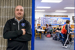 Carlson High School math teacher Rocco Giorgi