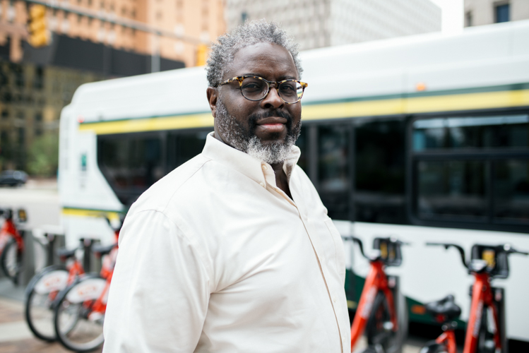 Garry Bulluck is deputy chief of mobility innovation for the City of Detroit