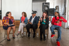 The panel at MakerLab 2015