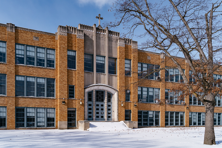 Immaculata High School, closed in 1984, will be renovated to house the new high school in Fall 2020