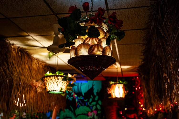 "The son of Marvin Chin, who founded Chin's restaurant in Livonia, isn't quite sure what prompted his father to bring tiki to the masses, but ""he really did have this passion for the décor. He just loved the tiki,"" Marlin says."