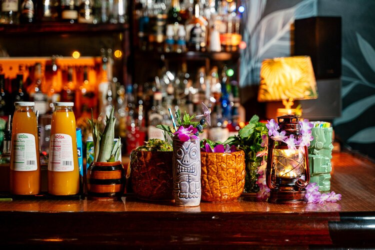 Tiki drinks are a delicate balance of sweet, sour, acidic, and potently boozy. In the wrong hands, tiki drinks can be flat and cloyingly sweet.