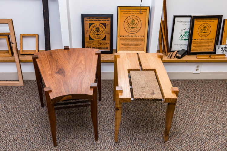 Incredible Rescued From The Ashes Discarded Trees Find New Life As Alphanode Cool Chair Designs And Ideas Alphanodeonline