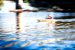 Clinton River Kayaker