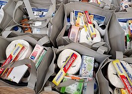Care packages, Macomb, Meals on Wheels, COVID, Coronavirus, Seniors
