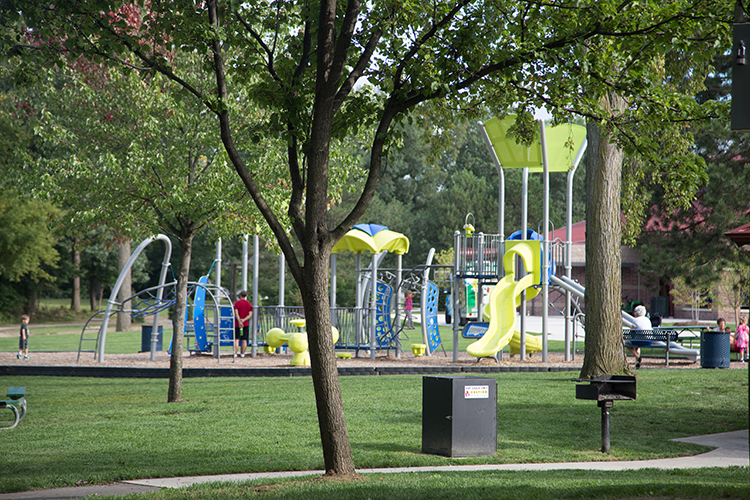 A playground in Sterling Heights' Dodge Park