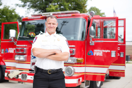 Fire Chief Chris Martin is running the Civilian Fire Academy in Sterling Heights.