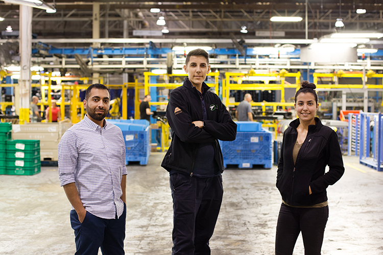 AGS Automotive and Iraqi refugees have teamed up to fill a workplace gap.