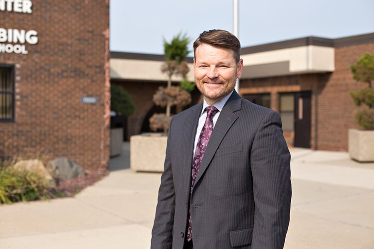 Robert Monroe has stepped into the role of superintendent at Utica Community Schools at a critical time for students and families.