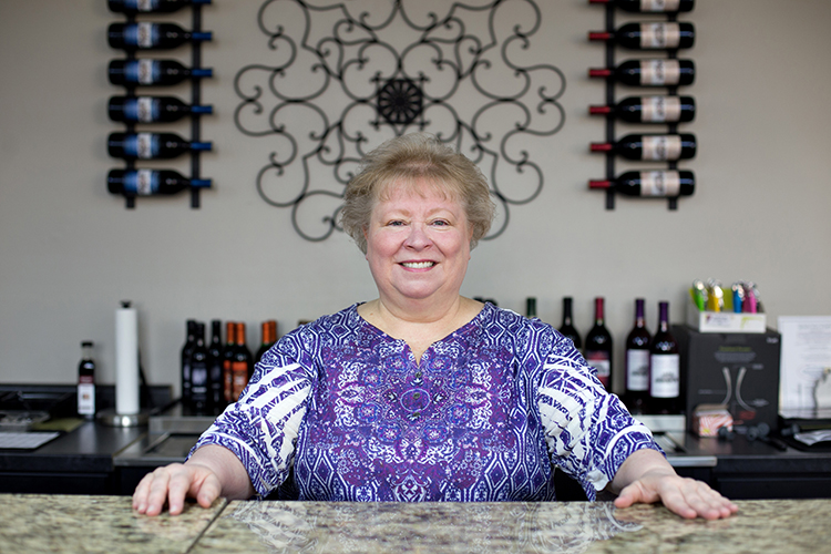 Nancy Mezza and her husband Joe have opened a winery in Sterling Heights