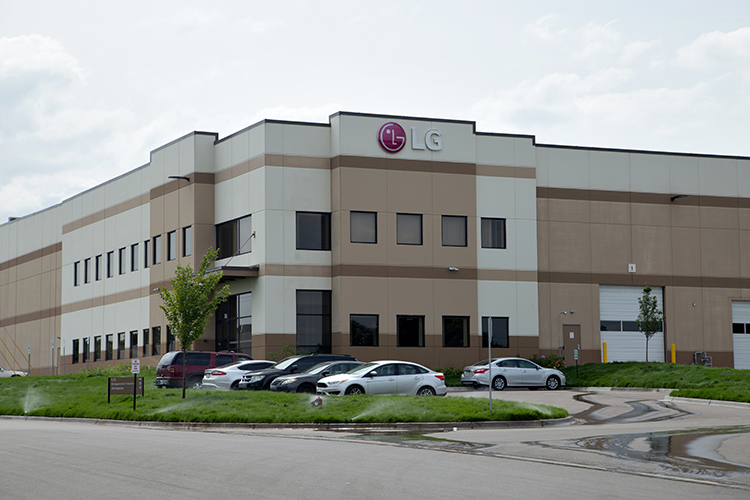 The new construction will resemble the tri-county commerce center in Hazel Park.