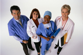 Doctors and nurses are ready to help you.