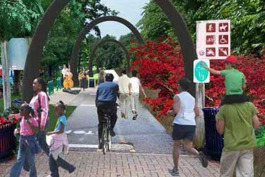 An artist's vision of the Grand Traverse Greenway.