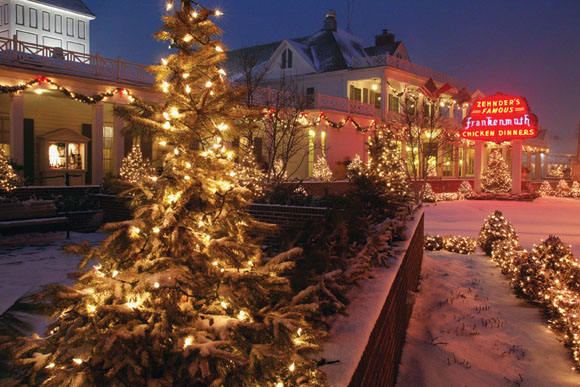 Frankenmuth Christmas.Frankenmuth Earns Christmas Distinction