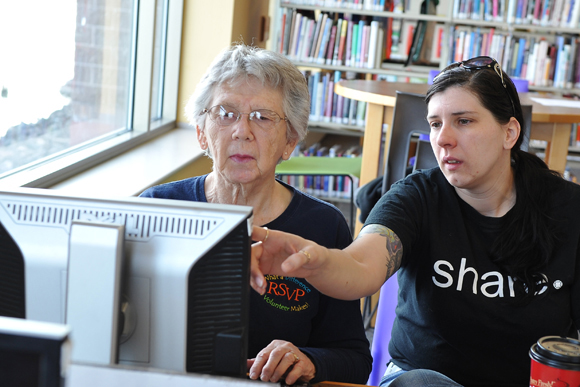 MTU STUDENTS HELPING THE ELDERLY THROUGH BREAKING DIGITAL BARRIERS PROJECT