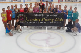 The Lansing Skating Club.