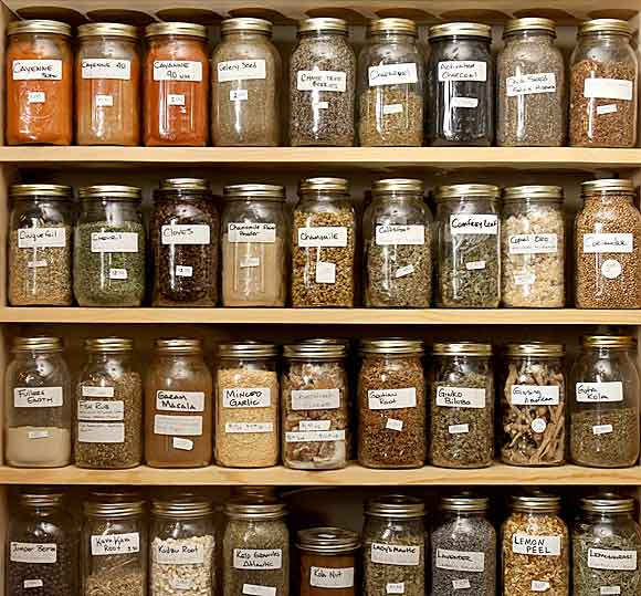 Herbal passions apothecary is labor of love for frankenmuth store owner - Medicinal herbs harvest august dry store ...