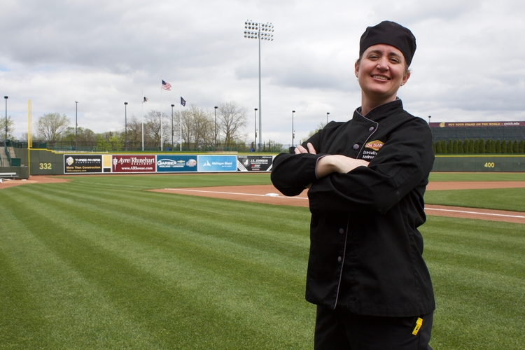 Andrea Noonan, Executive Chef with the Great Lakes Loons.