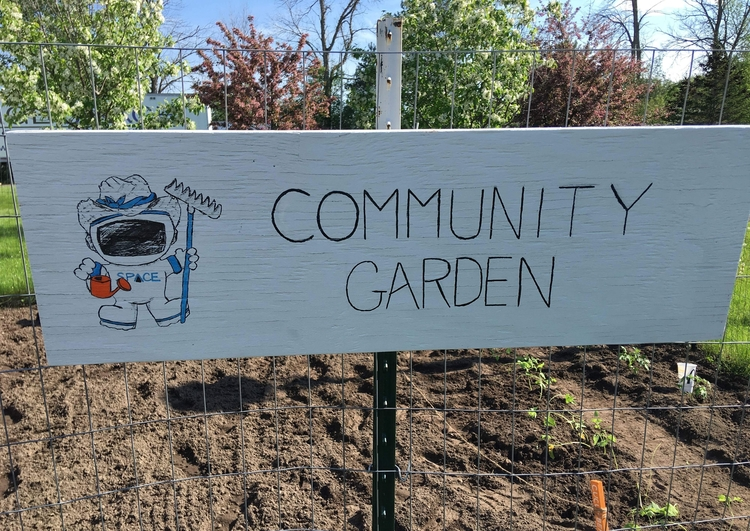 SPACE, Inc. has been involved with the community garden effort for two years.