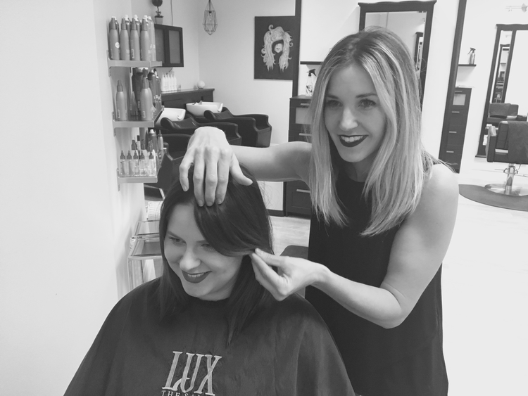 Kelli Mason, owner of Lux The Salon