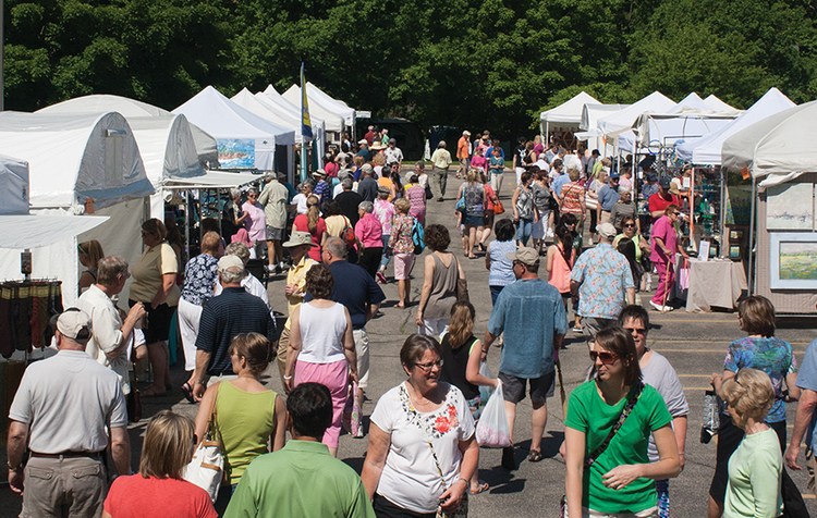 MCFTA's Summer Art Fair will be moving to Downtown Midland this year