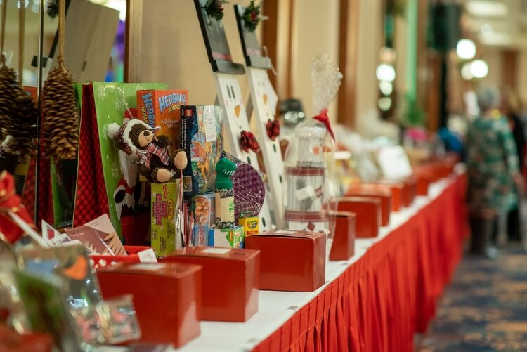 The gala featured raffles and auction items of all kinds.
