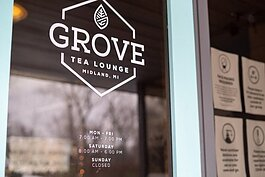 Grove Tea Lounge is located at 2405 Abbott Rd.