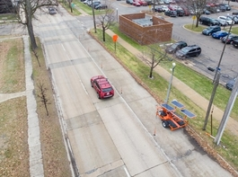 Downtown Midland's lane reduction test: Can less be more?
