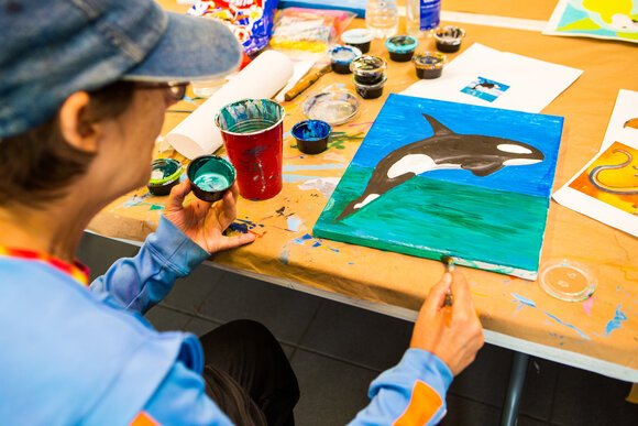 At Do-Art, students learn to work in a variety of mediums.