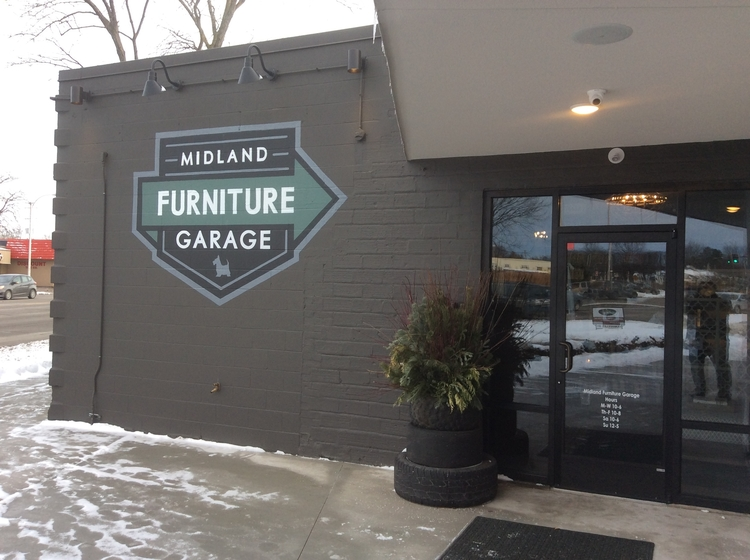 Charmant Midland Furniture Garage, Located In Center City