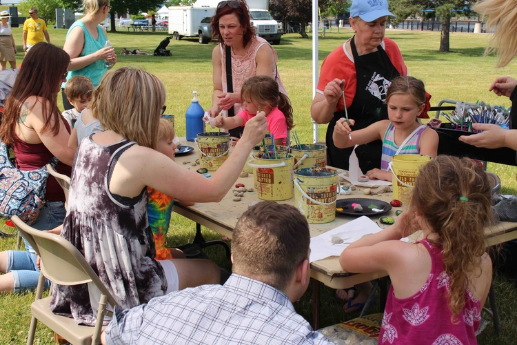 The Great Lakes Bay Pride Festival is a family friendly event in Bay City.