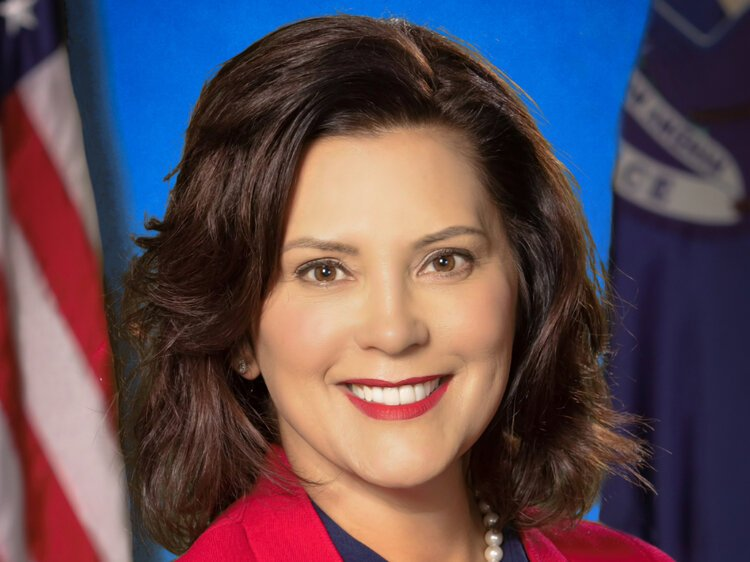 Governor Gretchen Whitmer spoke at the Great Lakes Bay Economic Club on January 17.