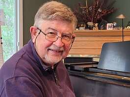 Jim Hohmeyer was named Midland Musician of the Year in 2014.