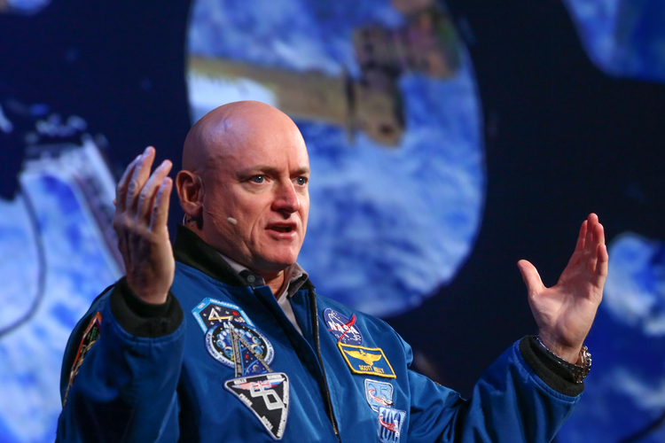 Captain Scott Kelly treated over 1,400 students to a talk about life on earth and in space as part of the 2019 ACS Central Regional Meeting, which took place in Midland this June.