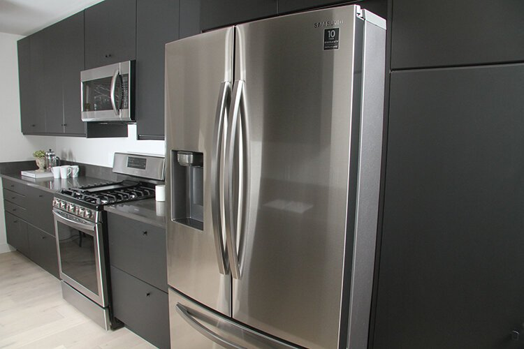 The stainless steel and custom finishes add value.