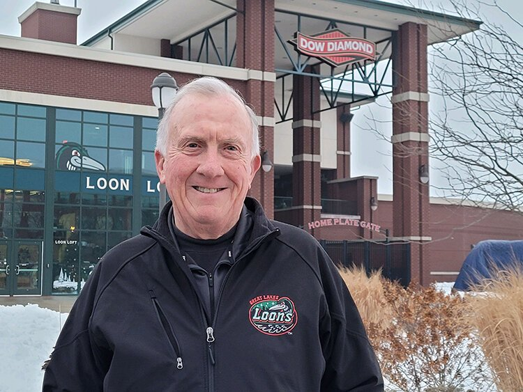 Mike Hayes is the interim president and general manager of the Great Lakes Loons.