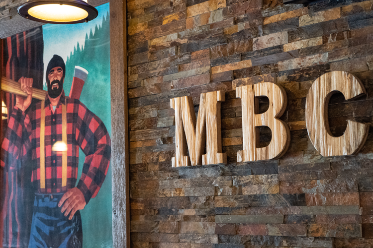 While Midland Brewing Company's beer can be purchased at local stores and taprooms throughout the state, inside the taproom the beer list has steadily grown.