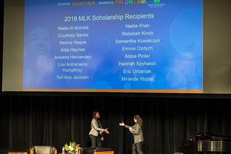 The 12th Annual Martin Luther King, Jr. Regional Celebration honored students from Bay, Saginaw and Midland counties.