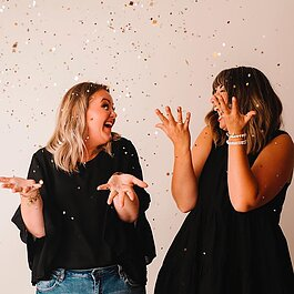 Mackenzie Hopkins and Kaela Dolan, lifelong friends and now cousins, recently opened The Rebel Mamas storefront in downtown Midland at 126 Townsend St.