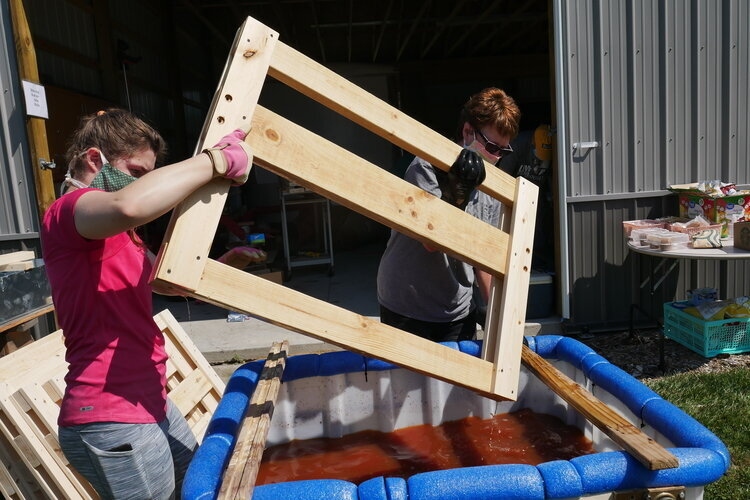The organization needs volunteers of all skill levels for a Sept. 12 event to build the beds in Midland. The goal is to build 20 beds in one day.