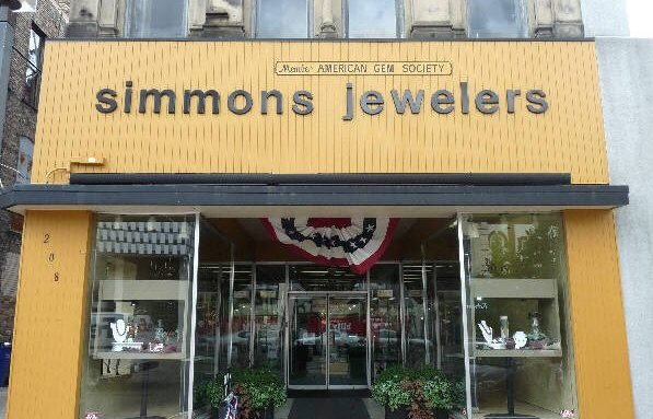 Simmons Jewelers closed years ago, but while it was open, employees and customers reported close encounters with the ghost of a former employee.