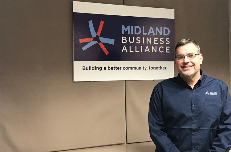 Tony Stamas, President and CEO of the Midland Business Alliance.
