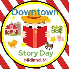 Downtown Story Day is this Saturday, April 10 from noon to 4 p.m. in downtown Midland.