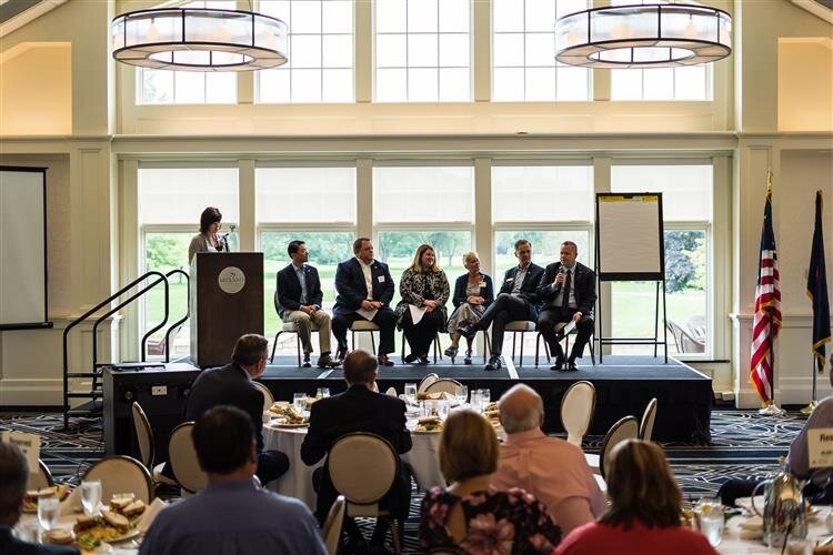 The Midland Chamber of Commerce hosted several speakers to discuss the changing business landscape in the region.
