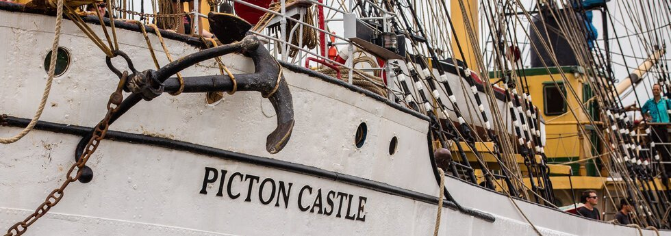 The Picton Castle, based in Nova Scotia, is best known for her voyages around the world. Over the past 15 years, the ship has made five voyages around the world.