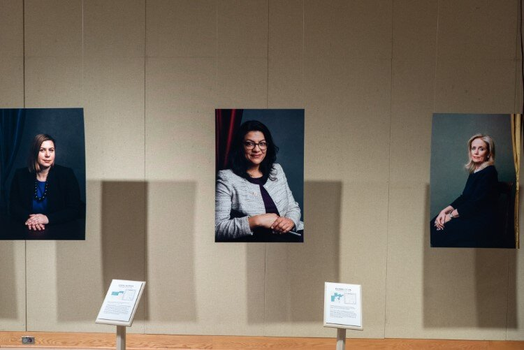 Redefining Representation: The Women of the 116th Congress is showing at Midland Center for the Arts until March 29.